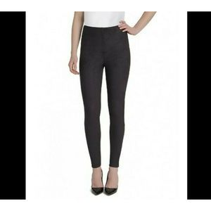 Lysse Black High Waisted Faux Suede Leggings
